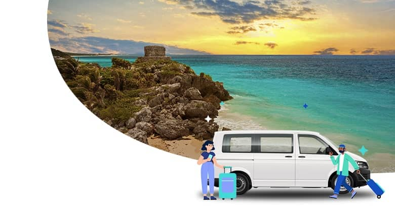 The best Cancun to Tulum Shuttle | Shuttle from Cancun to Tulum from $8.69