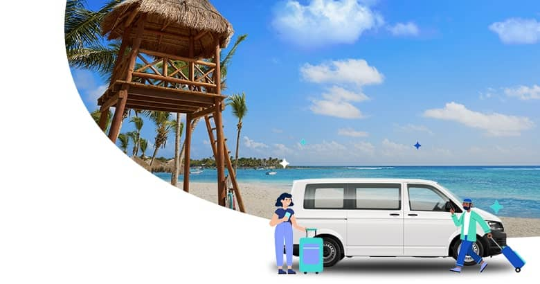 Transportation from Cancun airport to Akumal
