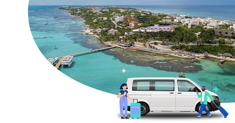Transportation from Cancun Airport to Isla Mujeres