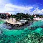 Transportation from Cancun Airport to Puerto Aventuras
